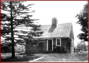 The Akin House ca. 1930s, photos by Manuel Goulart, after barn  and 	outbuilding were demolished and before a garage was built.                                                 [NBWM/ODHS collection]