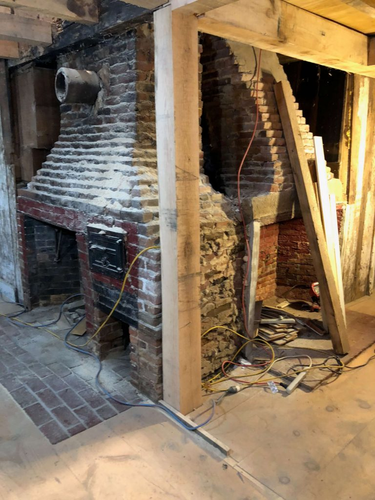 The Anatomy Of An 18th Century House Center Chimney Part 1